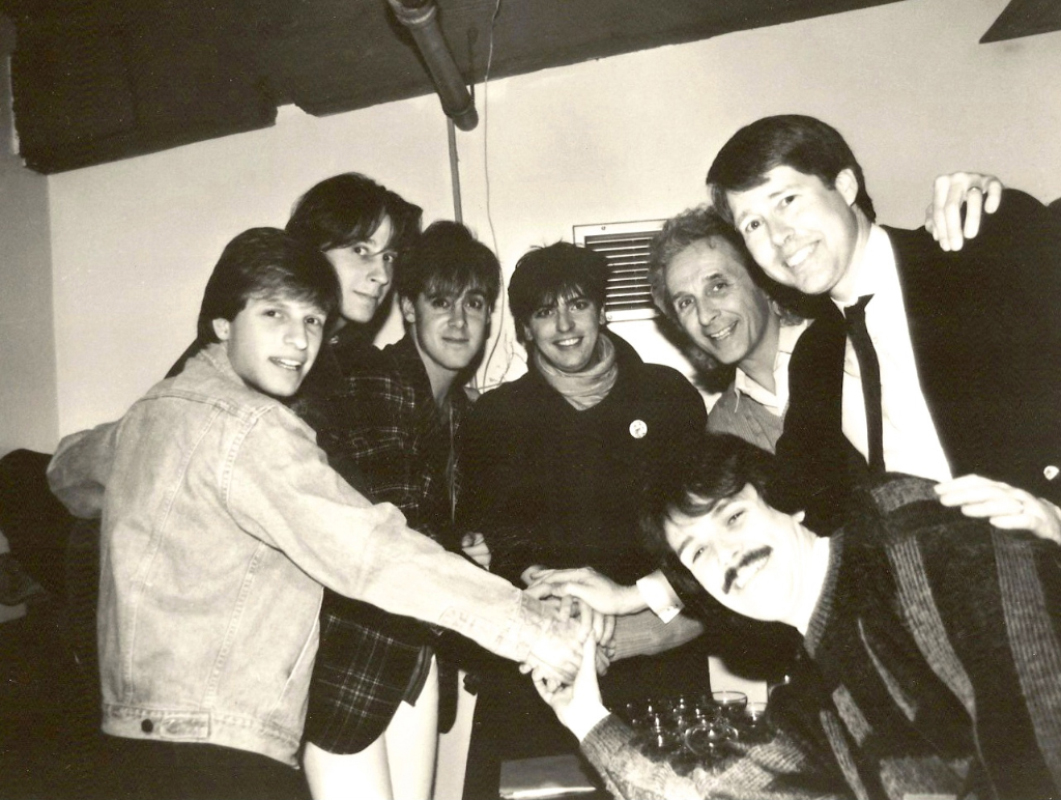 1986-12-18 Pikes signing Virgin recording contract