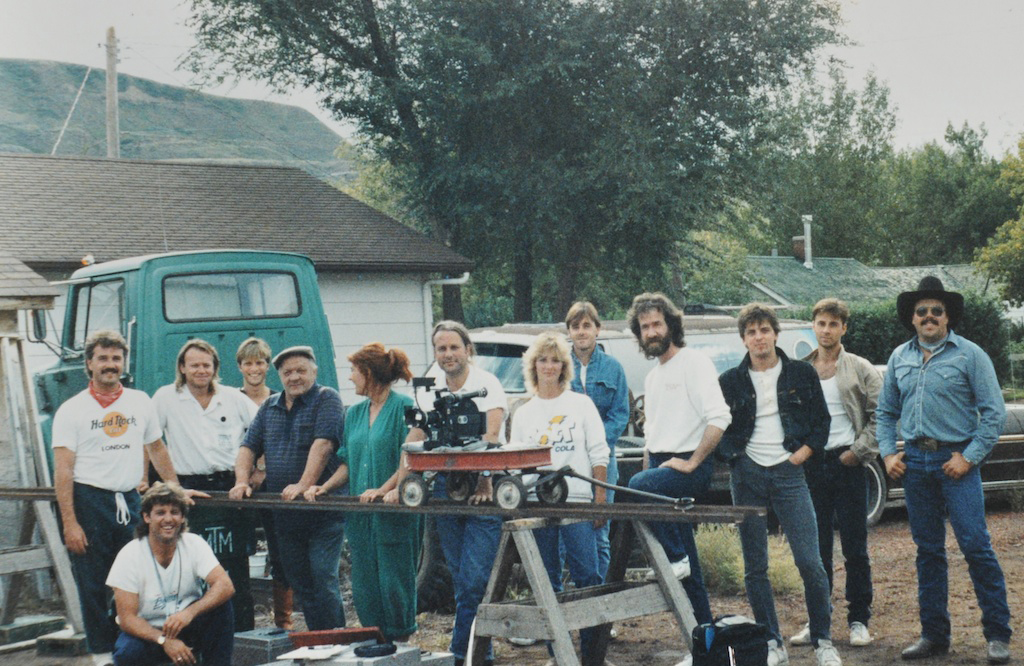 "1987-08-08 ""Things I Do For Money"" Video Shoot With ""Total Eclipse"" Film Crew - East Coulee AB"