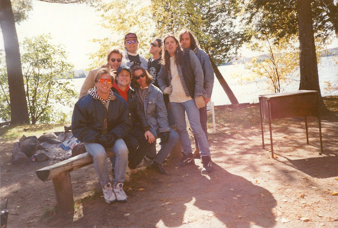 1992-10-05 Camping With Much Music - Algonquin Park ON