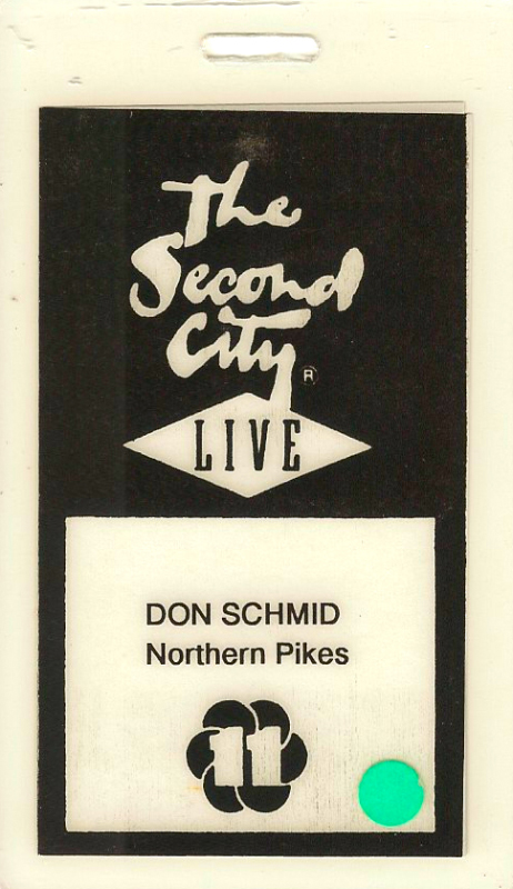 2001-02-04 Second City - Toronto ON