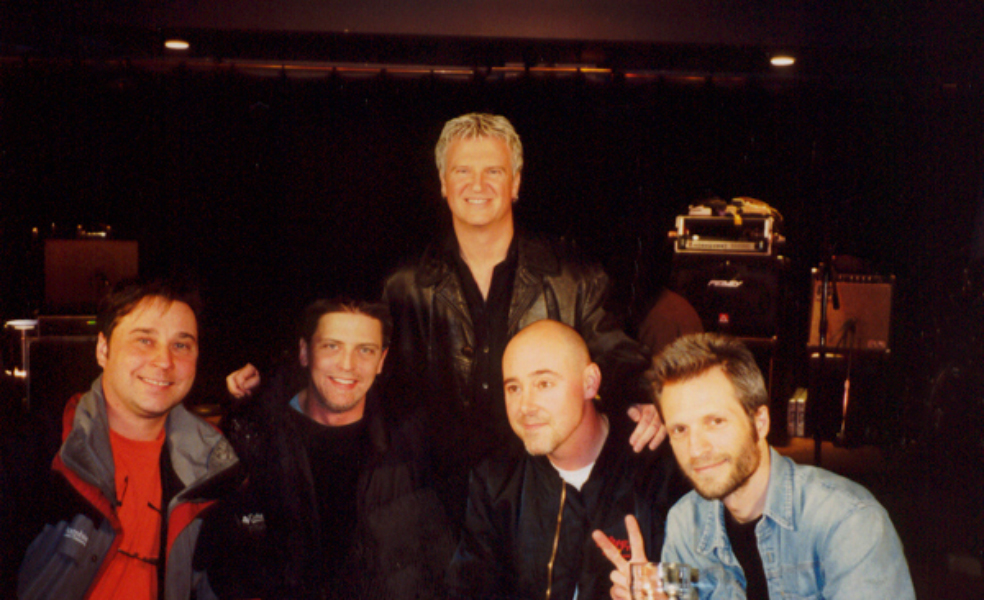 "2001-04-16 Pikes & Alan Frew from Glass Tiger ""The Casbah"" Hamilton ON"