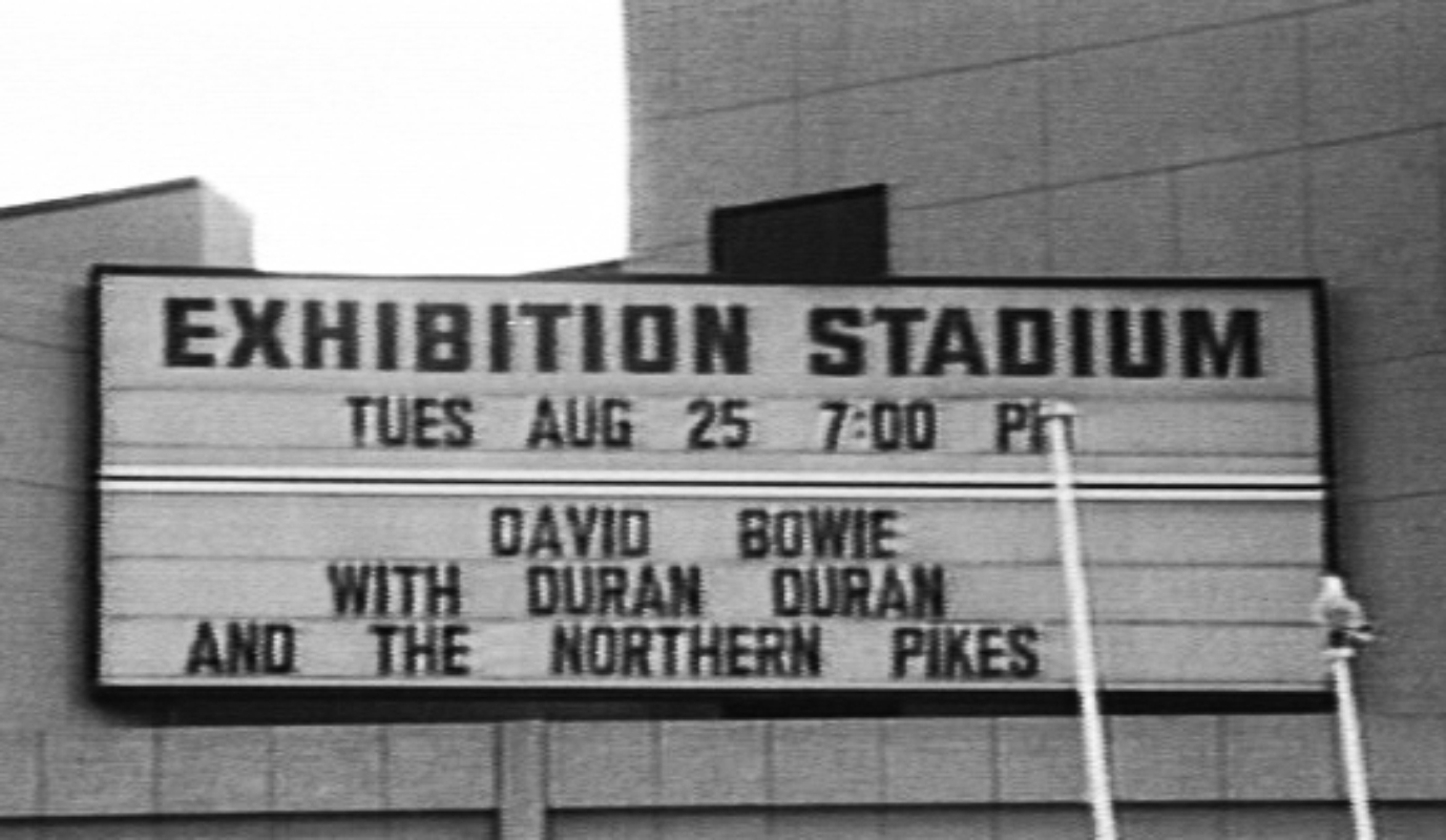 1987-08-25 David Bowie - CNE Stadium - Toronto ON