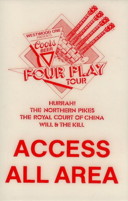 1987-10-16 Four Play USA Tour