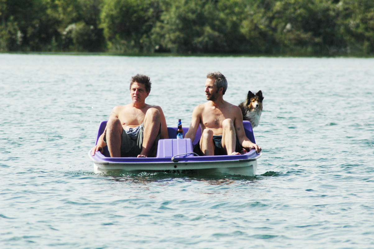 "2009-08-06 Bry & Don Floating on ""Purple Haze"" with Lacy Moonbeam - Morin Lake SK"
