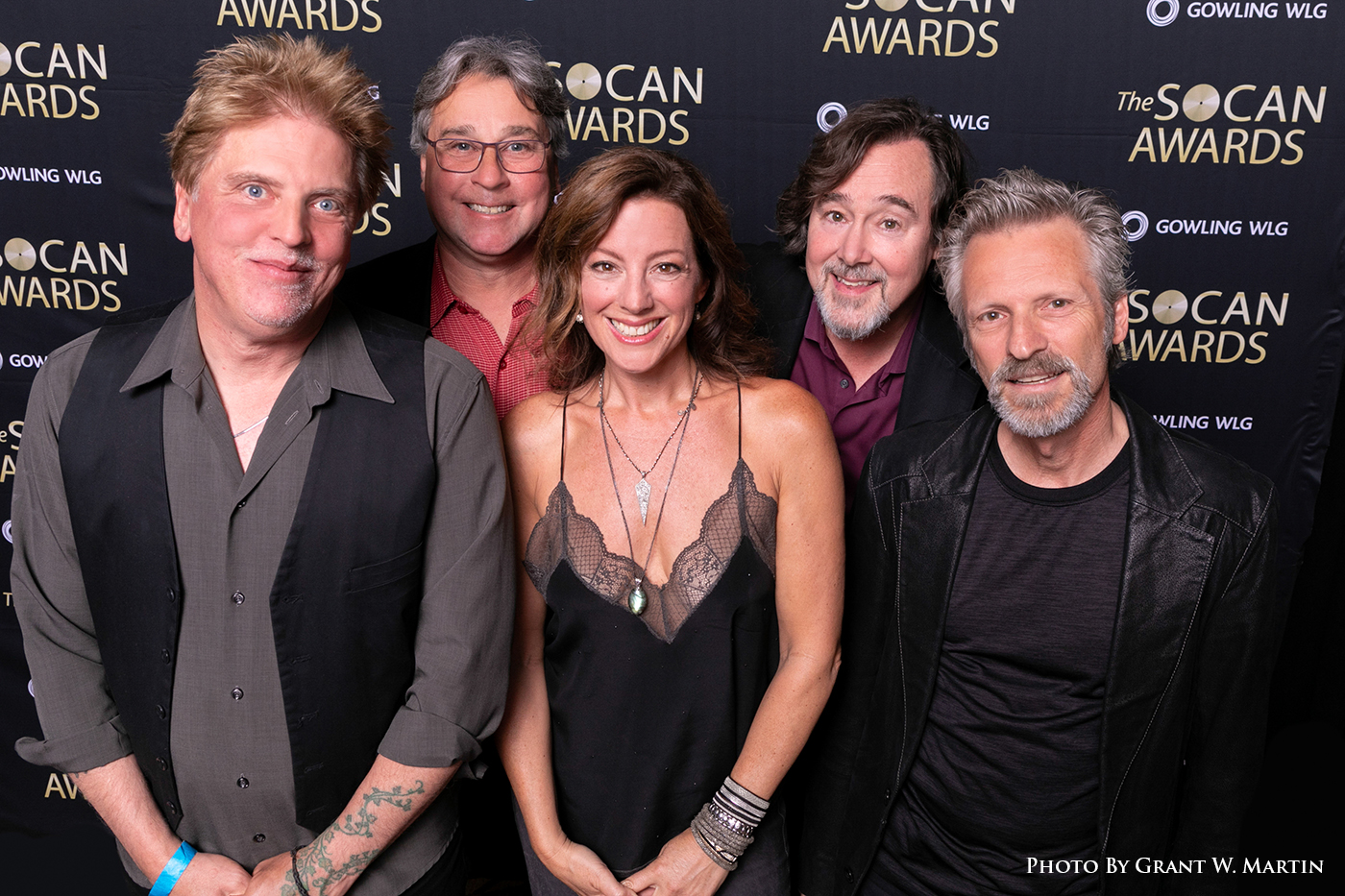 2018-06-18 Socan Awards with Sarah McLachlan