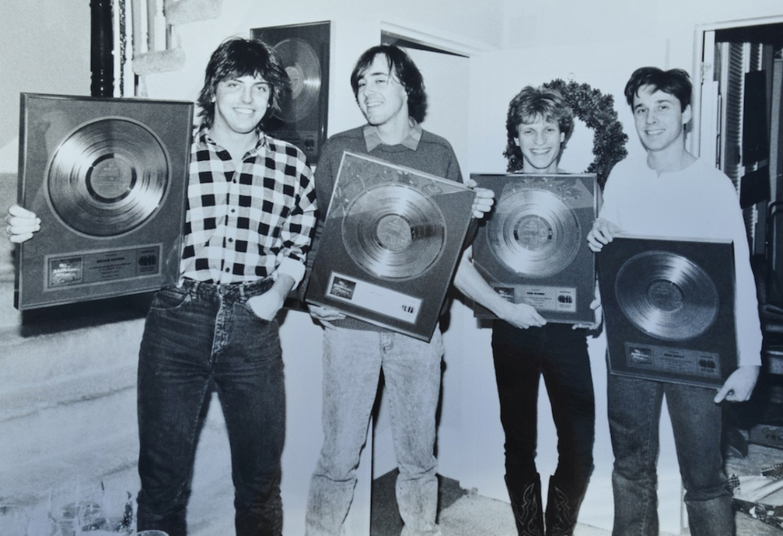 "1987-12-18 ""Big Blue Sky"" Gold Record - Toronto ON"