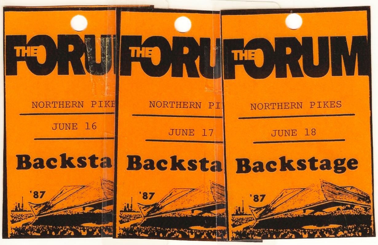1987-06-16, 17, 18 The Forum - Toronto ON