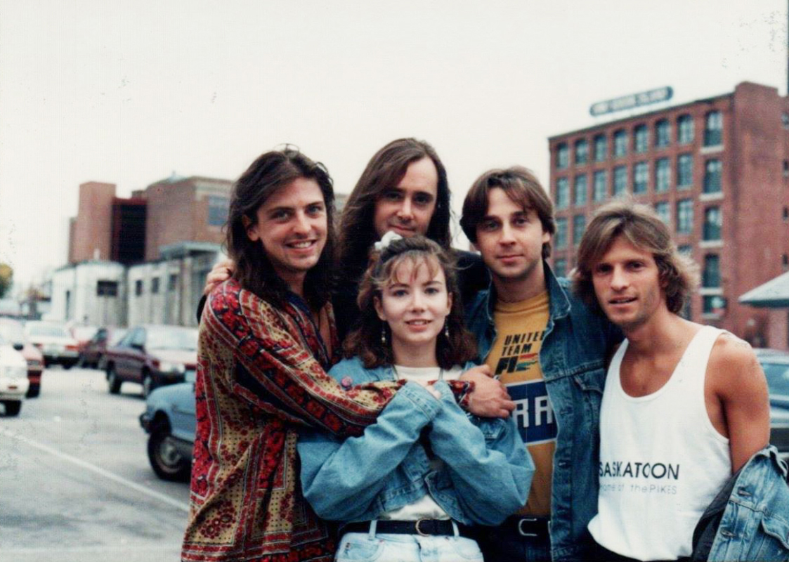 1991 The Pikes with Anne Markowski - Providence RI