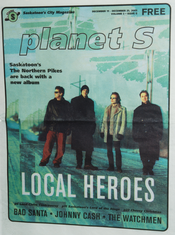 2003-12-25 Planet S Magazine - Saskatoon SK